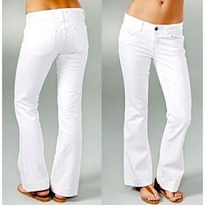 J Brand Heartbreaker White Denim Jeans